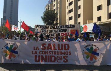 Marcha familiar por el derecho a la salud: La exigencia al Gobierno de deponer agenda privatizadora