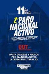 Federación CCU se suma a Paro Nacional Activo del 11 de abril convocado por la CUT