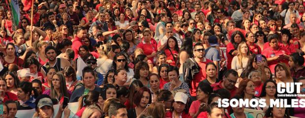 """""""Somos miles"""": Masiva diversa y convergente adhesión al 2° Paro Nacional Activo"""