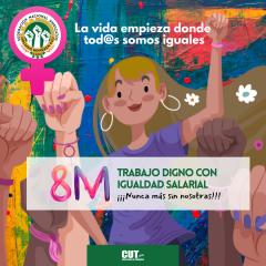 8 M: Las mujeres somos esenciales en la pandemia y en la vida
