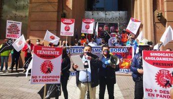Gobierno intenta evitar el retiro del 10 %: Trabajadores del Cobre en alerta por prepotencia de Piñera y portuarios inician paro