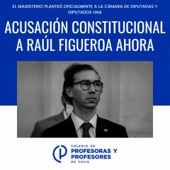 Se realiza acusación constitucional contra el ministro de Educación del régimen Piñera por violación de derechos en tiempos de pandemia